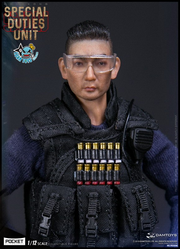 DAMTOYS PES008 HONG KONG ROYAL SDU ASSAULT TEAM 香港皇家特警飛虎隊攻擊隊隊員-03