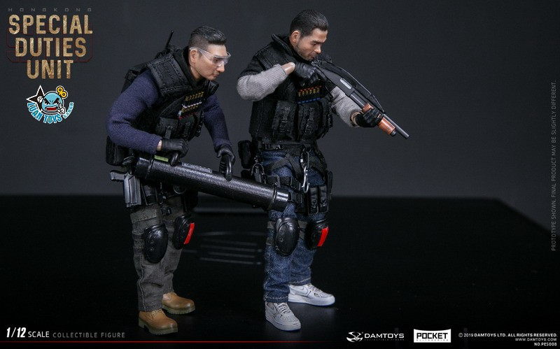 DAMTOYS PES008 HONG KONG ROYAL SDU ASSAULT TEAM 香港皇家特警飛虎隊攻擊隊隊員-08