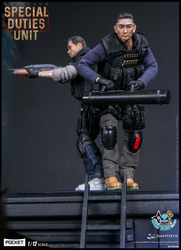 DAMTOYS PES008 HONG KONG ROYAL SDU ASSAULT TEAM 香港皇家特警飛虎隊攻擊隊隊員-09