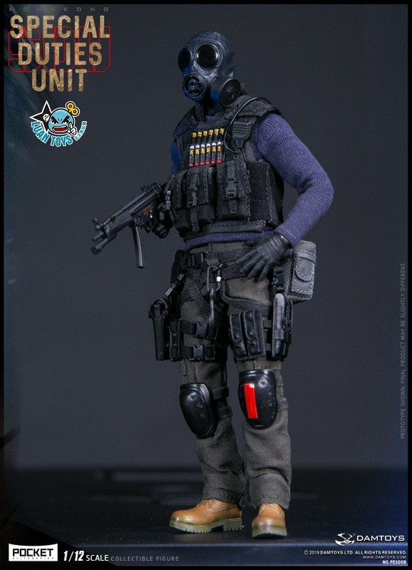 DAMTOYS PES008 HONG KONG ROYAL SDU ASSAULT TEAM 香港皇家特警飛虎隊攻擊隊隊員-12
