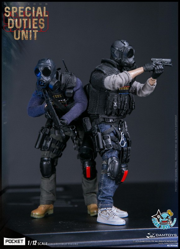 DAMTOYS PES008 HONG KONG ROYAL SDU ASSAULT TEAM 香港皇家特警飛虎隊攻擊隊隊員-13