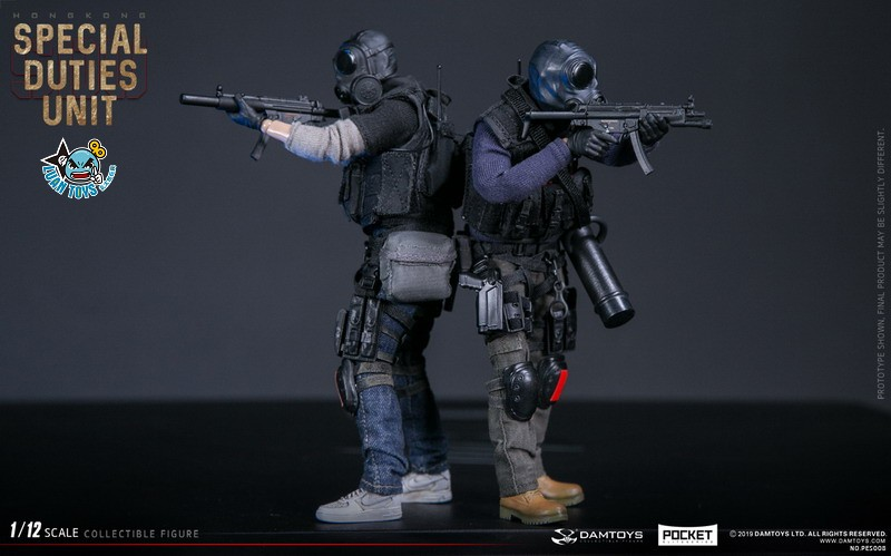 DAMTOYS PES008 HONG KONG ROYAL SDU ASSAULT TEAM 香港皇家特警飛虎隊攻擊隊隊員-14