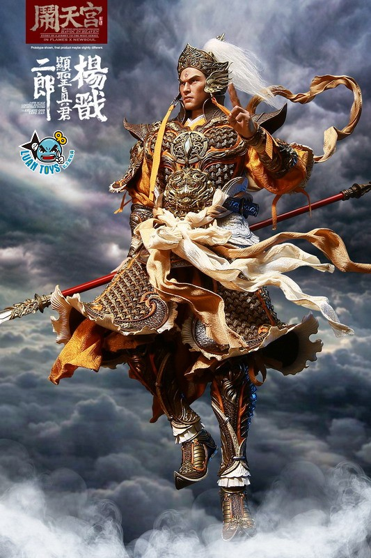 INFLAMES TOYS X NEWSOUL TOYS IFT-044 HAVOC IN HEAVEN SERIAL 鬧天宮系列 – ERLANG SHEN 二郎顯聖真君 二郎神 楊戩-07
