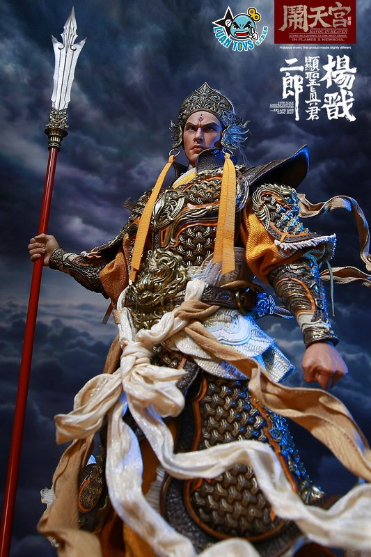 INFLAMES TOYS X NEWSOUL TOYS IFT-044 HAVOC IN HEAVEN SERIAL 鬧天宮系列 – ERLANG SHEN 二郎顯聖真君 二郎神 楊戩-12