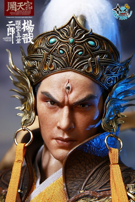 INFLAMES TOYS X NEWSOUL TOYS IFT-044 HAVOC IN HEAVEN SERIAL 鬧天宮系列 – ERLANG SHEN 二郎顯聖真君 二郎神 楊戩-17