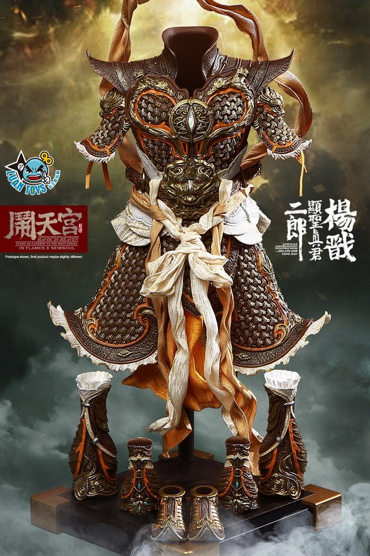 INFLAMES TOYS X NEWSOUL TOYS IFT-044 HAVOC IN HEAVEN SERIAL 鬧天宮系列 – ERLANG SHEN 二郎顯聖真君 二郎神 楊戩-18