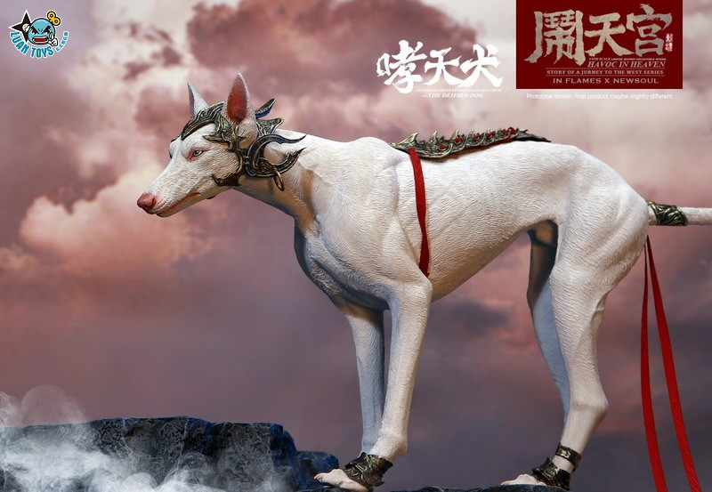INFLAMES TOYS X NEWSOUL TOYS IFT-045 HAVOC IN HEAVEN SERIAL 鬧天宮系列 – THE DEIFIED DOG 哮天犬-04