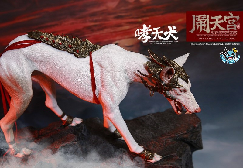 INFLAMES TOYS X NEWSOUL TOYS IFT-045 HAVOC IN HEAVEN SERIAL 鬧天宮系列 – THE DEIFIED DOG 哮天犬-06