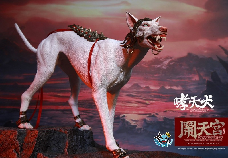 INFLAMES TOYS X NEWSOUL TOYS IFT-045 HAVOC IN HEAVEN SERIAL 鬧天宮系列 – THE DEIFIED DOG 哮天犬-08