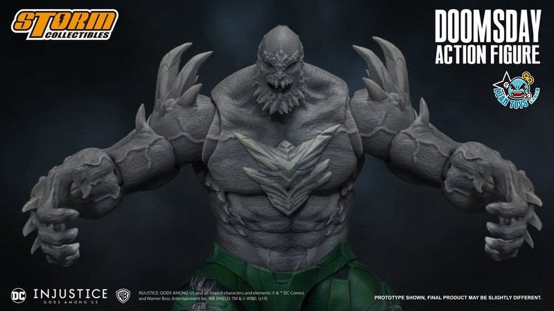 STORM TOY DCIJ-004 DC INJUSTICE GODS AMONG US 超級英雄 武力對決 – DOOMSDAY 毀滅日-01