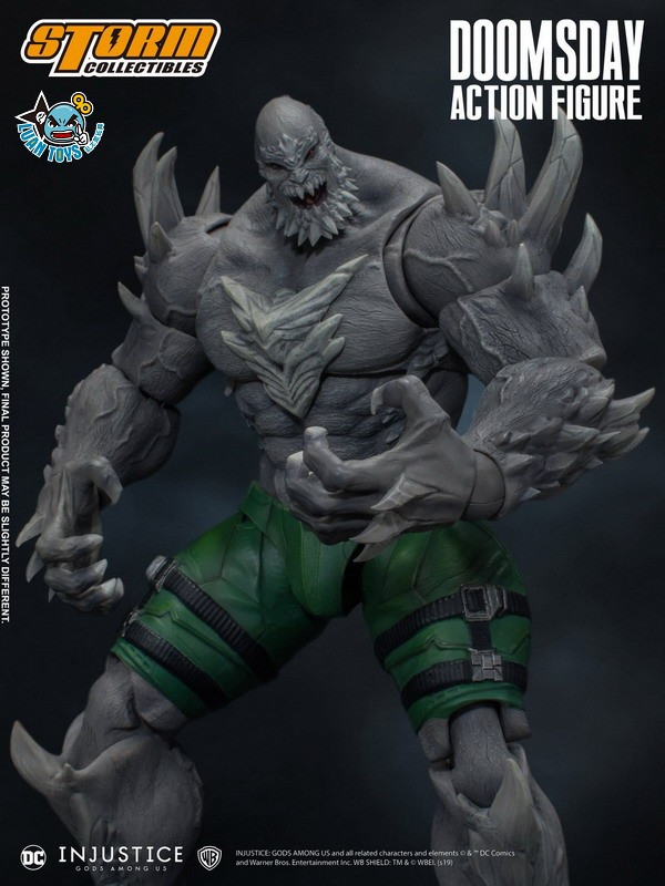 STORM TOY DCIJ-004 DC INJUSTICE GODS AMONG US 超級英雄 武力對決 – DOOMSDAY 毀滅日-04