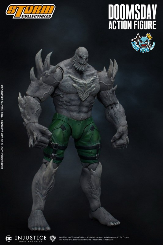 STORM TOY DCIJ-004 DC INJUSTICE GODS AMONG US 超級英雄 武力對決 – DOOMSDAY 毀滅日-13