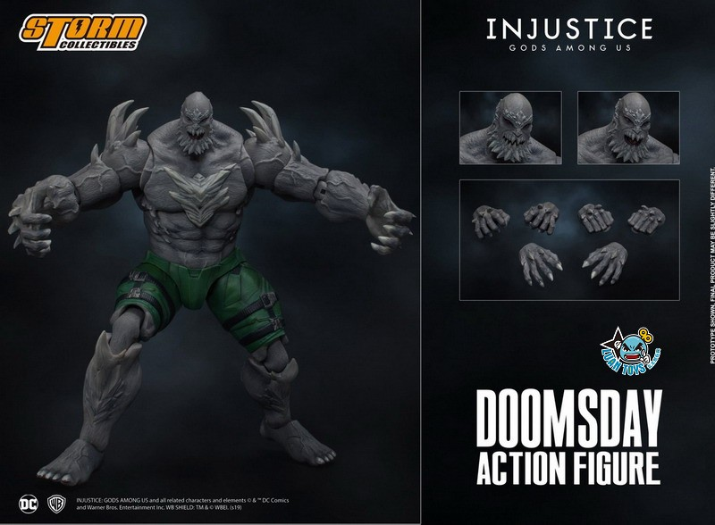 STORM TOY DCIJ-004 DC INJUSTICE GODS AMONG US 超級英雄 武力對決 – DOOMSDAY 毀滅日-15