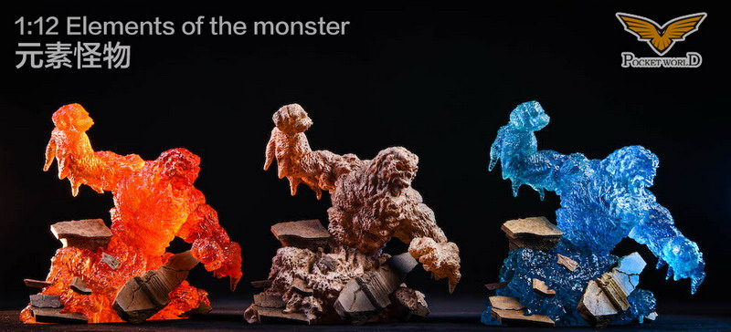POCKET WORLD PW2011 ELEMENTS OF THE MONSTER 元素怪物-02