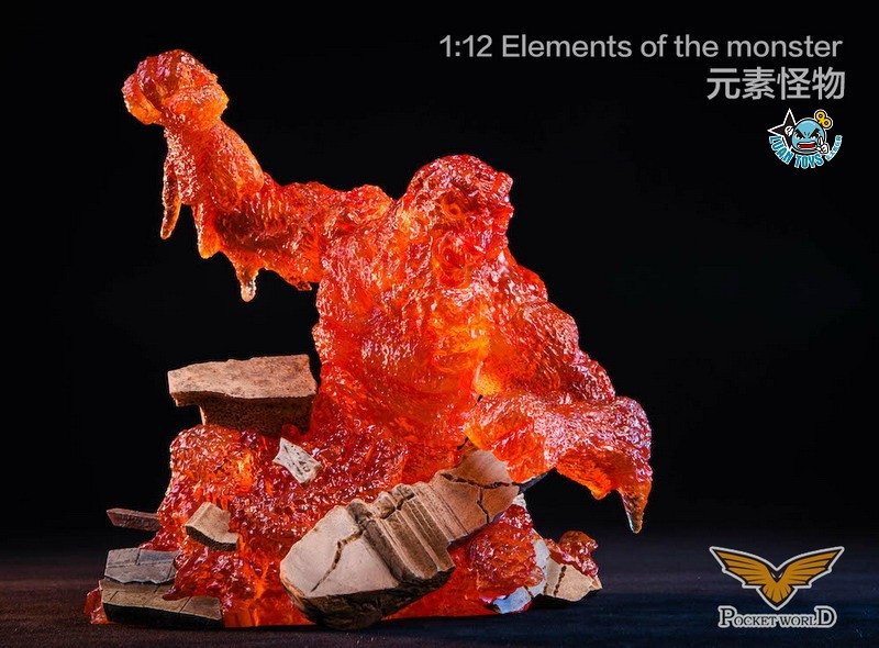 POCKET WORLD PW2011A ELEMENTS OF THE MONSTER 元素怪物-01