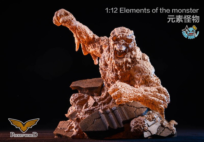 POCKET WORLD PW2011B ELEMENTS OF THE MONSTER 元素怪物-01