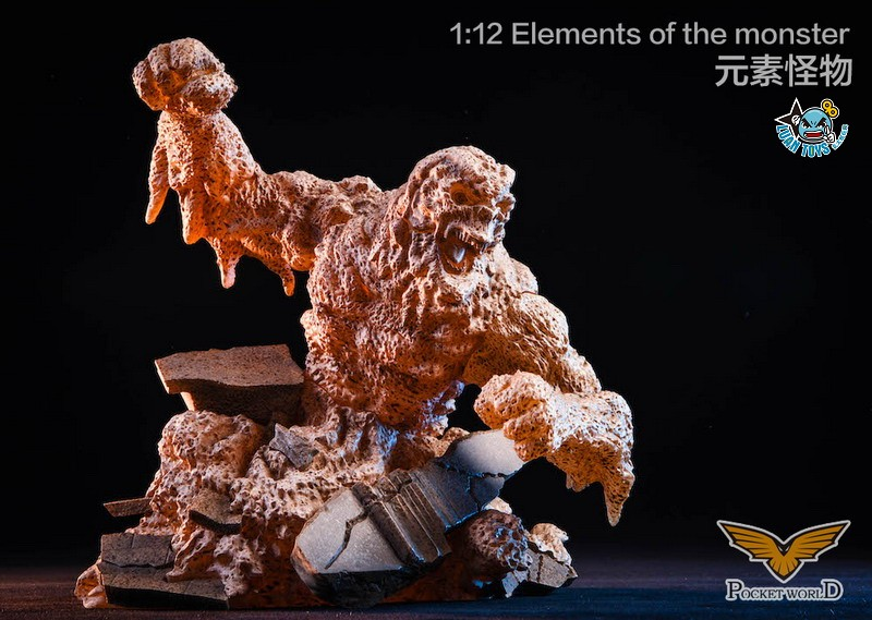 POCKET WORLD PW2011B ELEMENTS OF THE MONSTER 元素怪物-02