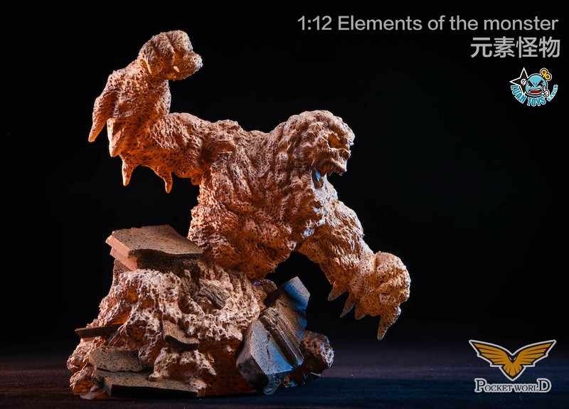 POCKET WORLD PW2011B ELEMENTS OF THE MONSTER 元素怪物-03