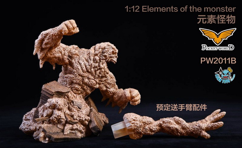 POCKET WORLD PW2011B ELEMENTS OF THE MONSTER 元素怪物-05