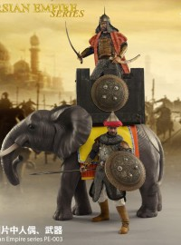 HENGTOYS PE-003 PERSIAN EMPIRE SERIS 波斯帝國系列 - ELEPHANTS 戰象
