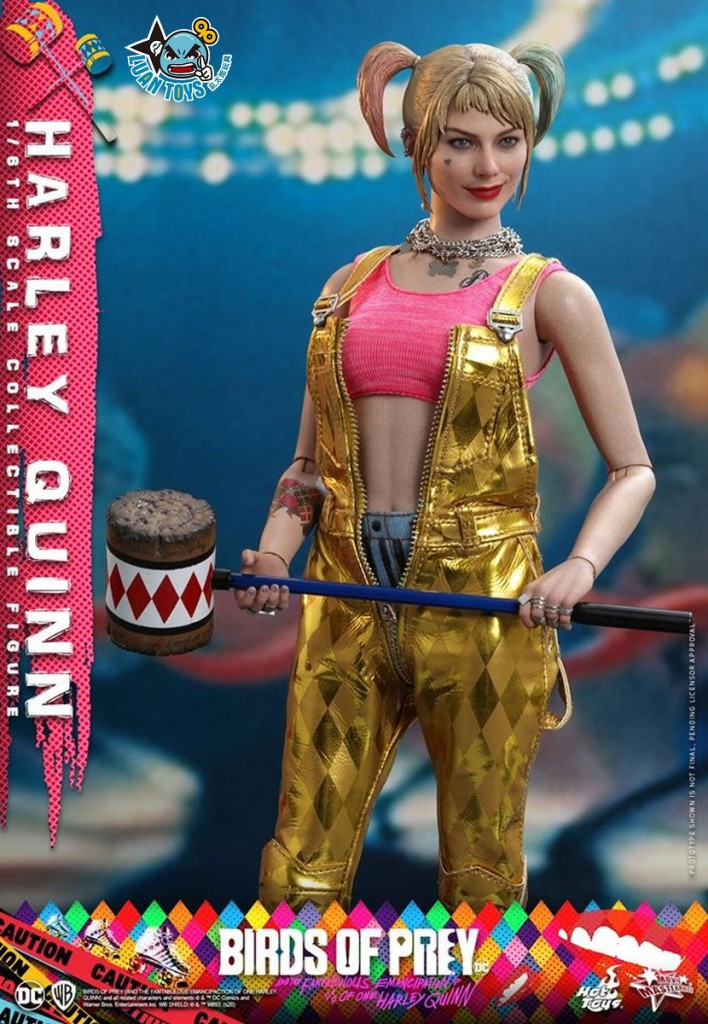 HOT TOYS DC BIRDS OF PREY(AND THE FANTABULOUS EMANCIPATION OF ONE HARLEY QUINN)  猛禽小隊 小丑女大解放 – HARLEY QUINN 小丑女 哈莉奎茵(MARGOT ROBBIE 瑪格羅比飾演)-06