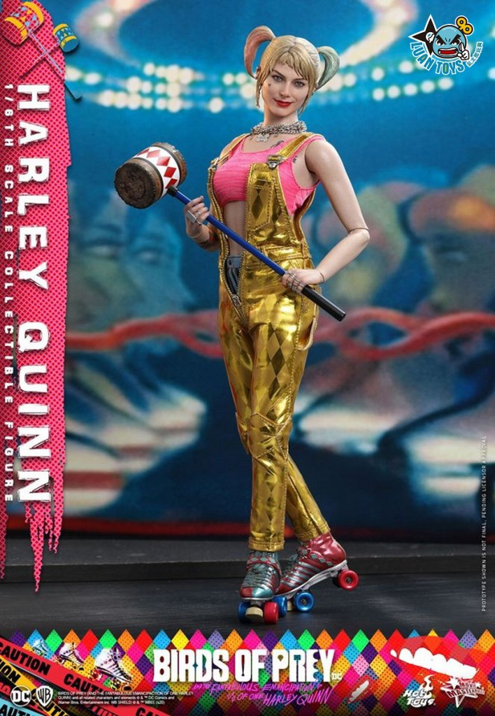 HOT TOYS DC BIRDS OF PREY(AND THE FANTABULOUS EMANCIPATION OF ONE HARLEY QUINN)  猛禽小隊 小丑女大解放 – HARLEY QUINN 小丑女 哈莉奎茵(MARGOT ROBBIE 瑪格羅比飾演)-07