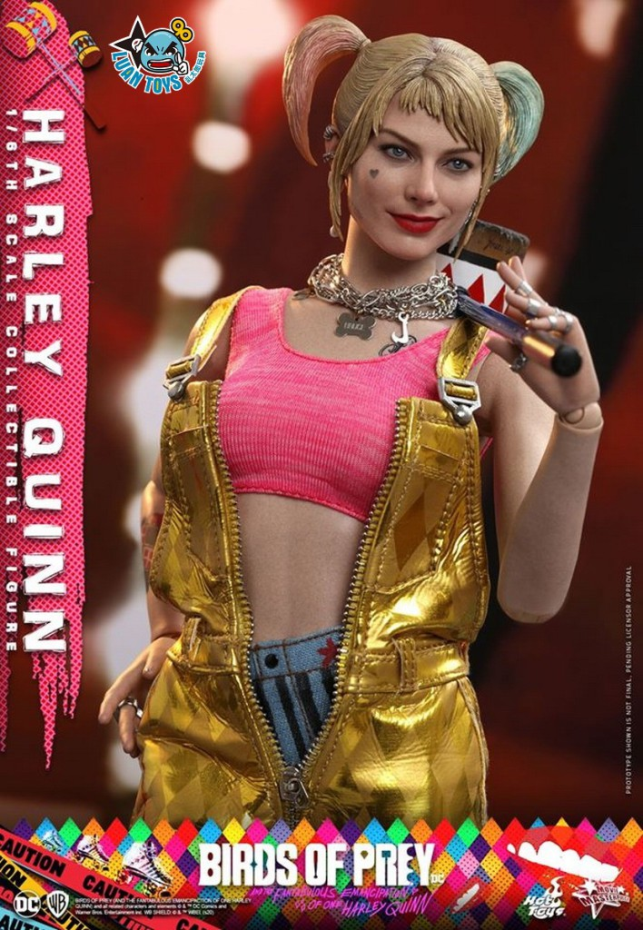 HOT TOYS DC BIRDS OF PREY(AND THE FANTABULOUS EMANCIPATION OF ONE HARLEY QUINN)  猛禽小隊 小丑女大解放 – HARLEY QUINN 小丑女 哈莉奎茵(MARGOT ROBBIE 瑪格羅比飾演)-09
