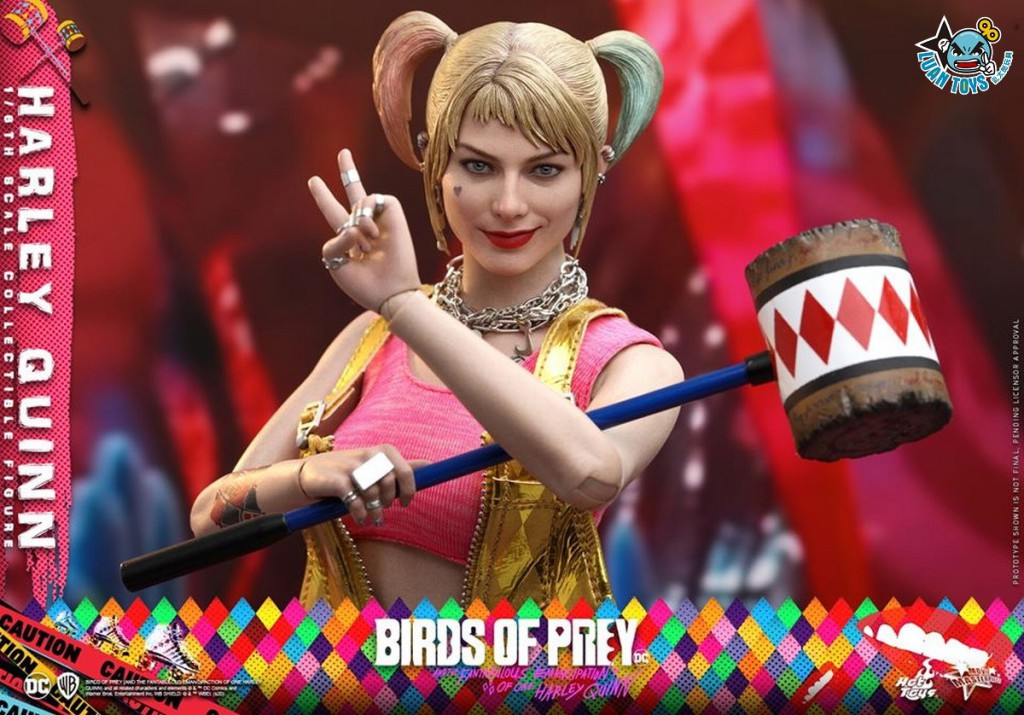 HOT TOYS DC BIRDS OF PREY(AND THE FANTABULOUS EMANCIPATION OF ONE HARLEY QUINN)  猛禽小隊 小丑女大解放 – HARLEY QUINN 小丑女 哈莉奎茵(MARGOT ROBBIE 瑪格羅比飾演)-10