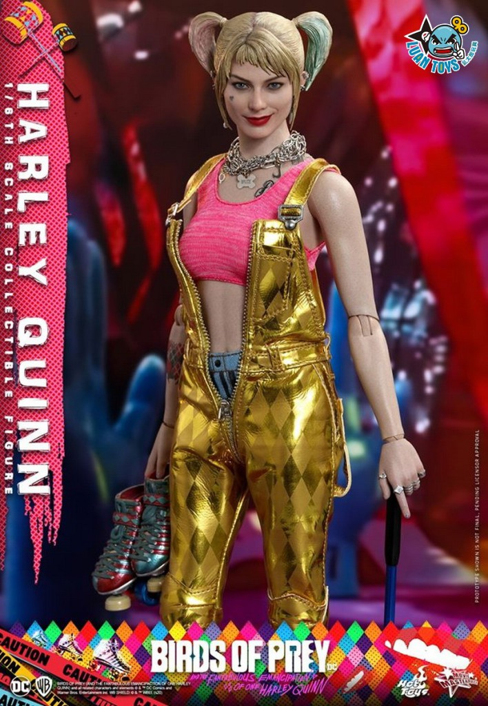 HOT TOYS DC BIRDS OF PREY(AND THE FANTABULOUS EMANCIPATION OF ONE HARLEY QUINN)  猛禽小隊 小丑女大解放 – HARLEY QUINN 小丑女 哈莉奎茵(MARGOT ROBBIE 瑪格羅比飾演)-13
