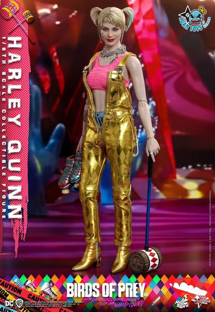 HOT TOYS DC BIRDS OF PREY(AND THE FANTABULOUS EMANCIPATION OF ONE HARLEY QUINN)  猛禽小隊 小丑女大解放 – HARLEY QUINN 小丑女 哈莉奎茵(MARGOT ROBBIE 瑪格羅比飾演)-14