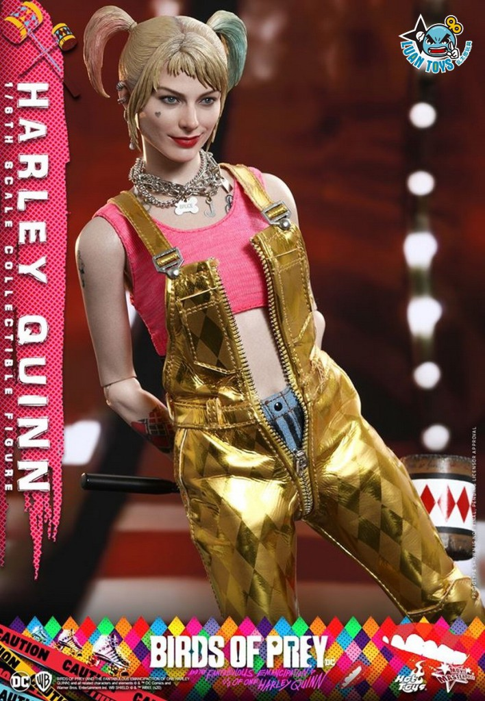 HOT TOYS DC BIRDS OF PREY(AND THE FANTABULOUS EMANCIPATION OF ONE HARLEY QUINN)  猛禽小隊 小丑女大解放 – HARLEY QUINN 小丑女 哈莉奎茵(MARGOT ROBBIE 瑪格羅比飾演)-16
