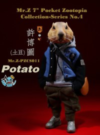 MR.Z PZCS011 POCKET ZOOTOPIA COLLECTION SERIES 口袋動物城系列 – 許博圖-01