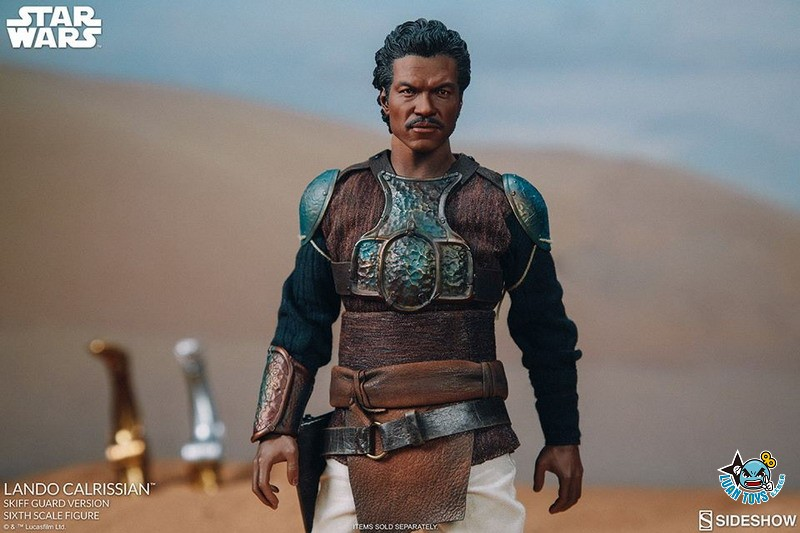 SIDESHOW STAR WARS EPISODE VI RETURN OF THE JEDI 星際大戰六部曲 絕地大反攻 – LANDO CALRISSIAN 藍道史基夫(BILLY DEE WILLIAMS 比利迪威廉斯飾演)(SKIFF GUARD VERSION 守衛版)-05