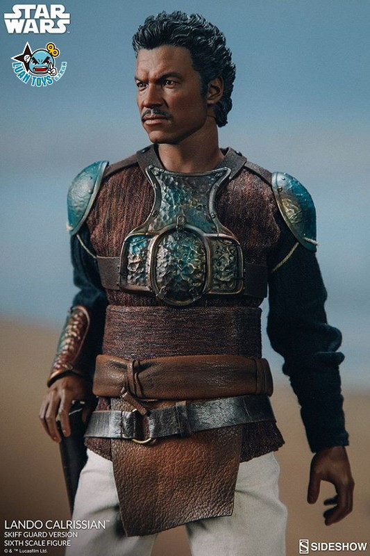 SIDESHOW STAR WARS EPISODE VI RETURN OF THE JEDI 星際大戰六部曲 絕地大反攻 – LANDO CALRISSIAN 藍道史基夫(BILLY DEE WILLIAMS 比利迪威廉斯飾演)(SKIFF GUARD VERSION 守衛版)-06