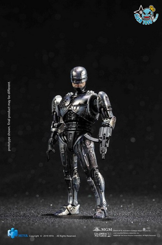HIYA TOYS LR0066 ROBOCOP 3 機器戰警 3(BATTLE DAMAGED VERSION 戰損版)-01