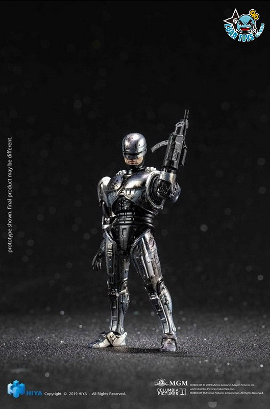 HIYA TOYS LR0066 ROBOCOP 3 機器戰警 3(BATTLE DAMAGED VERSION 戰損版)-02