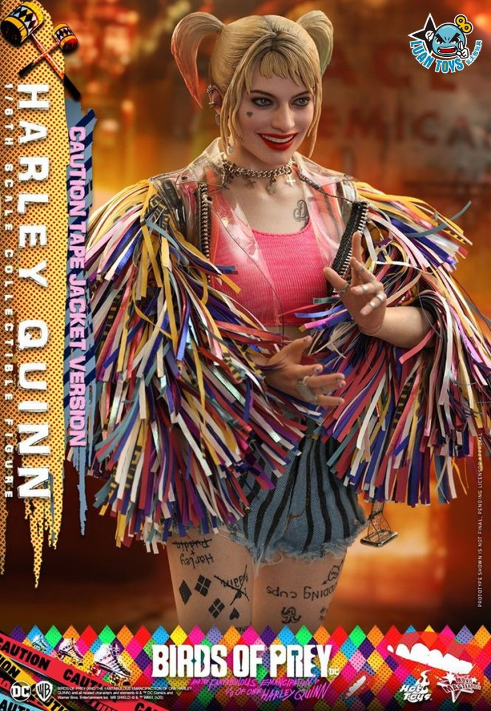 HOT TOYS DC BIRDS OF PREY 猛禽小隊 小丑女大解放 – HARLEY QUINN 小丑女 哈莉奎茵(MARGOT ROBBIE 瑪格羅比飾演)(CAUTION TAPE JACKET 警示外套版Ver.)-02