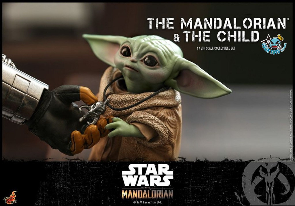 HOT TOYS THE MANDALORIAN 曼達洛人 – THE MANDALORIAN & THE CHILD 曼達洛人 & 孩子-02
