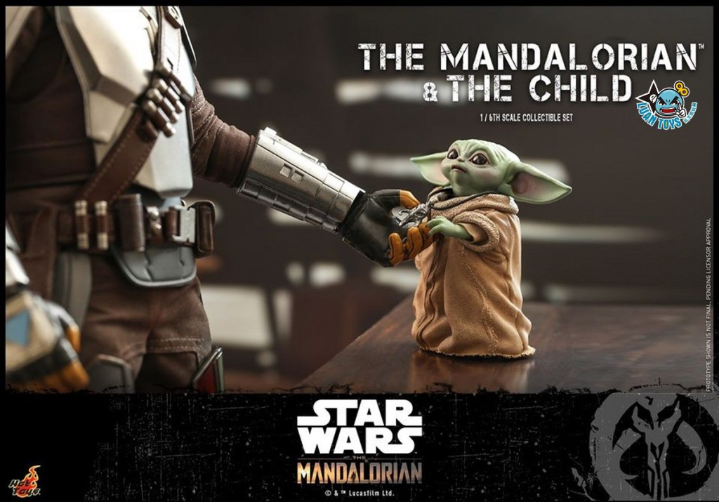 HOT TOYS THE MANDALORIAN 曼達洛人 – THE MANDALORIAN & THE CHILD 曼達洛人 & 孩子-03