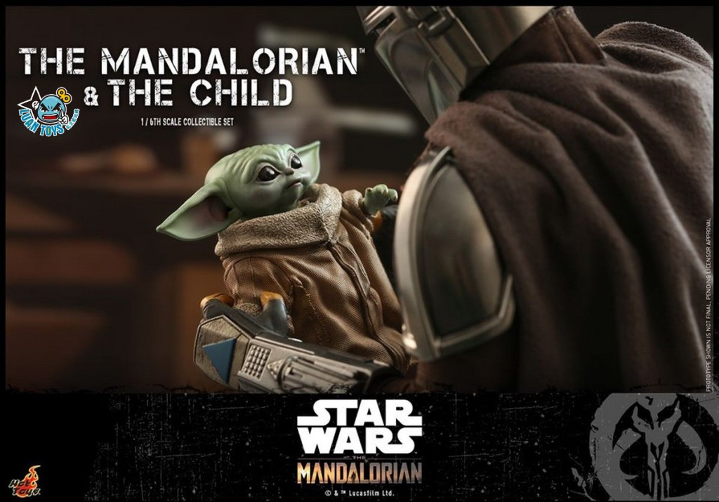 HOT TOYS THE MANDALORIAN 曼達洛人 – THE MANDALORIAN & THE CHILD 曼達洛人 & 孩子-04