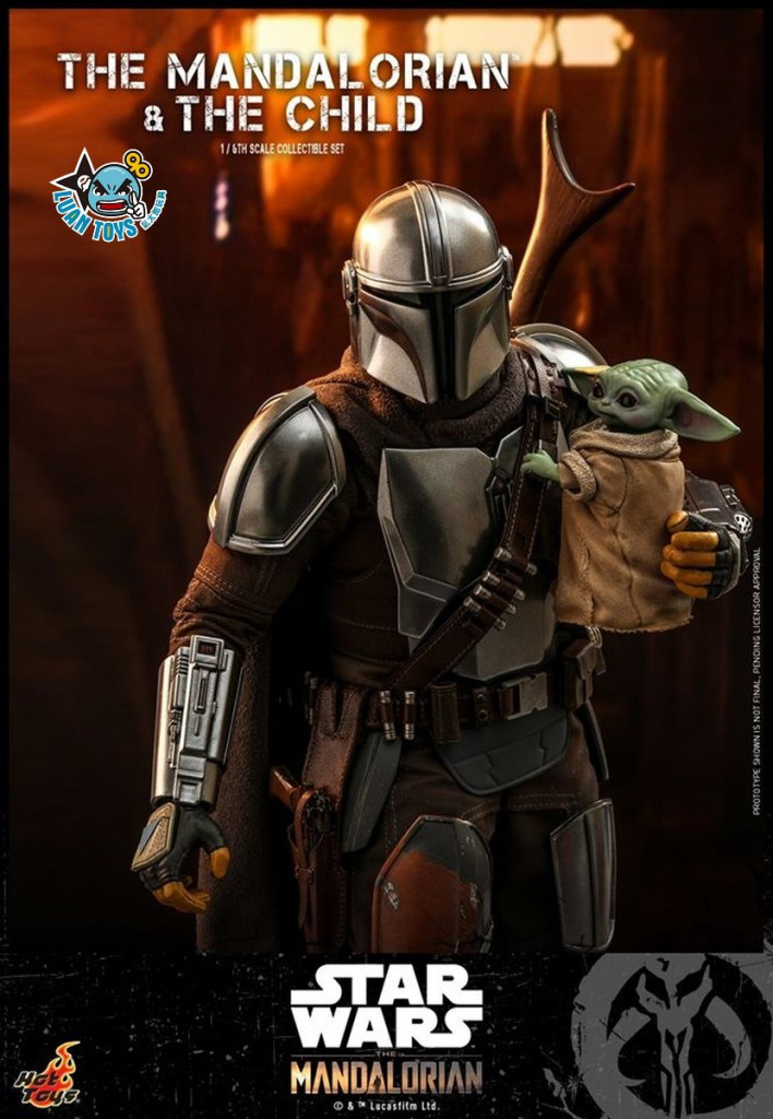 HOT TOYS THE MANDALORIAN 曼達洛人 – THE MANDALORIAN & THE CHILD 曼達洛人 & 孩子-05