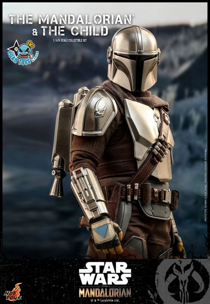 HOT TOYS THE MANDALORIAN 曼達洛人 – THE MANDALORIAN & THE CHILD 曼達洛人 & 孩子-06