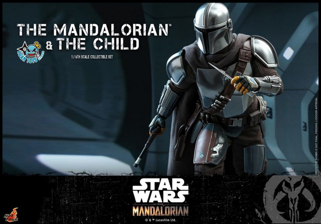 HOT TOYS THE MANDALORIAN 曼達洛人 – THE MANDALORIAN & THE CHILD 曼達洛人 & 孩子-08