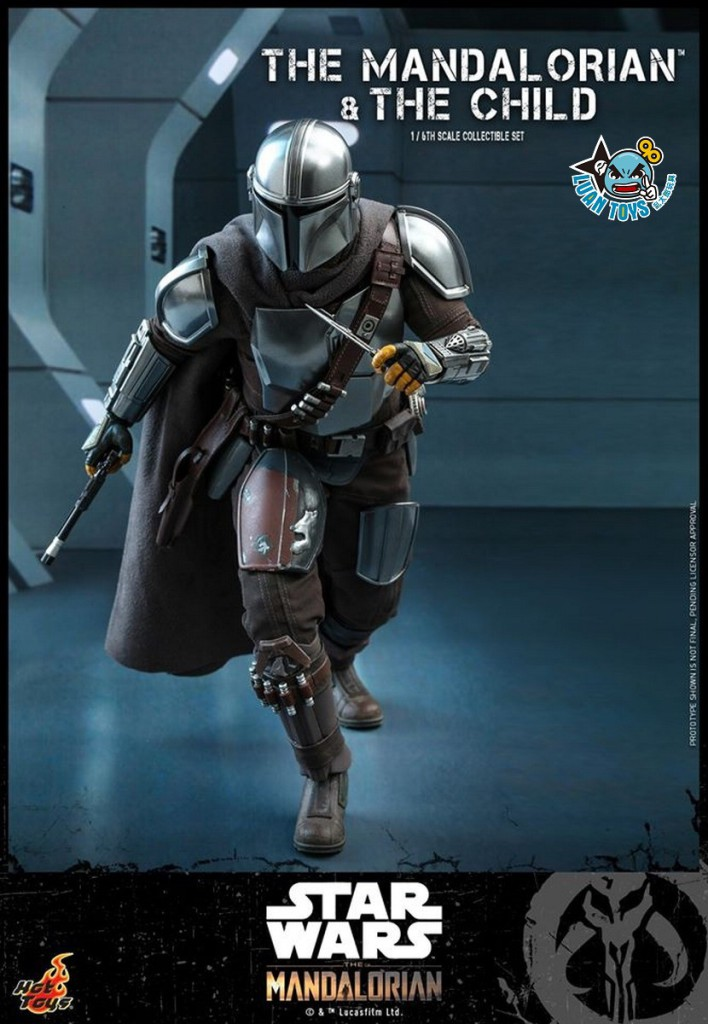 HOT TOYS THE MANDALORIAN 曼達洛人 – THE MANDALORIAN & THE CHILD 曼達洛人 & 孩子-09