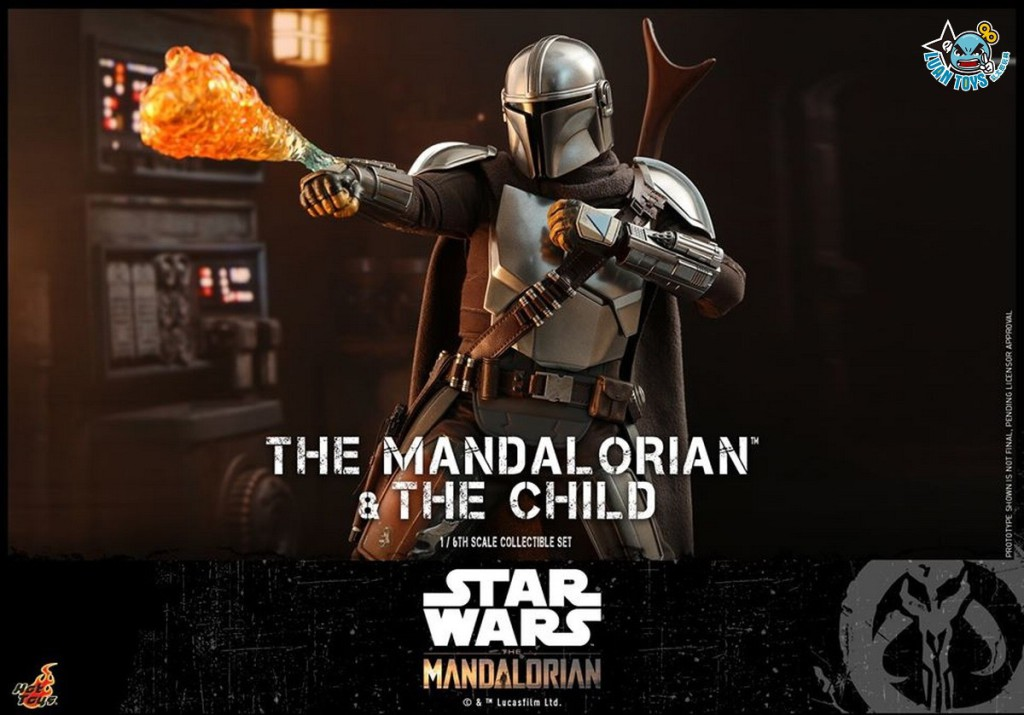 HOT TOYS THE MANDALORIAN 曼達洛人 – THE MANDALORIAN & THE CHILD 曼達洛人 & 孩子-11