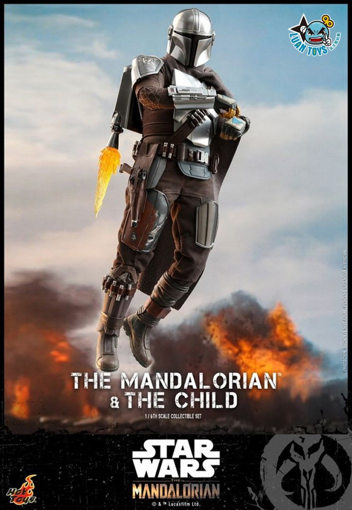 HOT TOYS THE MANDALORIAN 曼達洛人 – THE MANDALORIAN & THE CHILD 曼達洛人 & 孩子-12