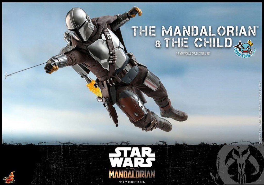 HOT TOYS THE MANDALORIAN 曼達洛人 – THE MANDALORIAN & THE CHILD 曼達洛人 & 孩子-13
