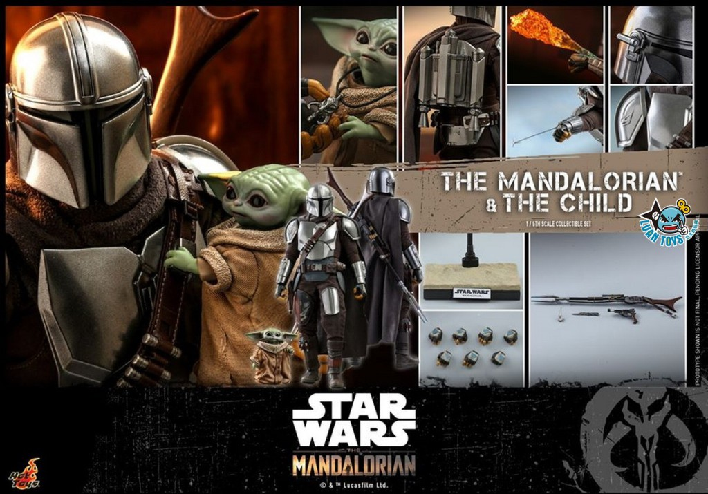 HOT TOYS THE MANDALORIAN 曼達洛人 – THE MANDALORIAN & THE CHILD 曼達洛人 & 孩子-14