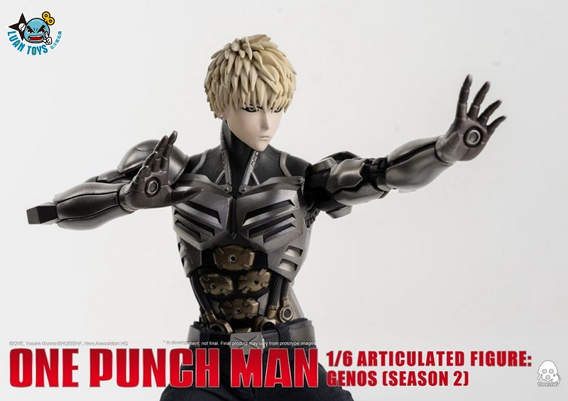 Threezero ONE PUNCH MAN 一拳超人 – GENOS 魔鬼生化人 傑諾斯(SEASON 2 第二季Ver.)-01