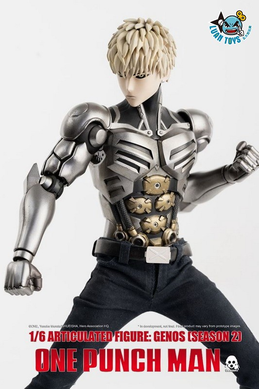 Threezero ONE PUNCH MAN 一拳超人 – GENOS 魔鬼生化人 傑諾斯(SEASON 2 第二季Ver.)-02